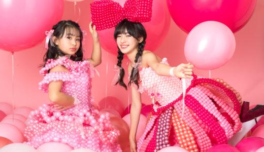 「リボン」と「ピンク」がテーマのバルーンドレス作品をご紹介します!【pink!pink!pink!】